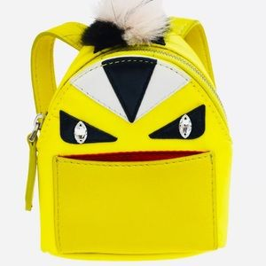FENDI Monster Bag Charm Key Ring